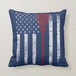 Lacrosse Flag Cushion