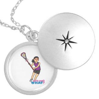 Lacrosse Girl - Medium Pendants