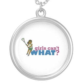 Lacrosse Girls Green Uniform Custom Jewelry
