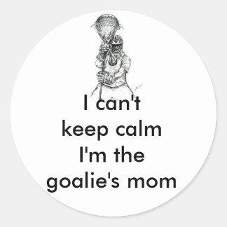 Lacrosse Goalie Mom Sticker