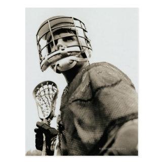 Lacrosse Goalkeeper Postcard