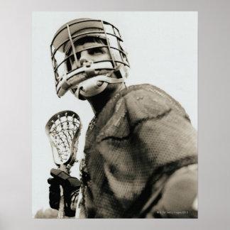 Lacrosse Goalkeeper Print