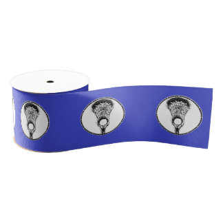 Lacrosse Grosgrain Ribbon