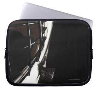 Lacrosse helmet laptop sleeve