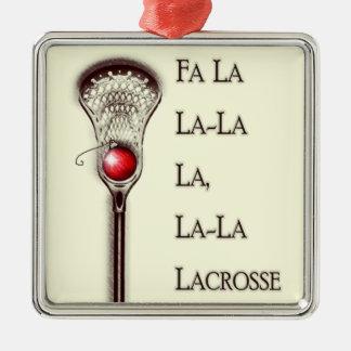 Lacrosse Holidays Christmas Ornament