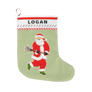 lacrosse holidays large christmas stocking