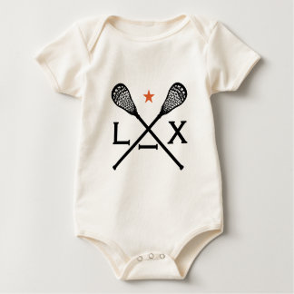 Lacrosse Lax Baby Bodysuit