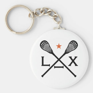 Lacrosse Lax Key Ring