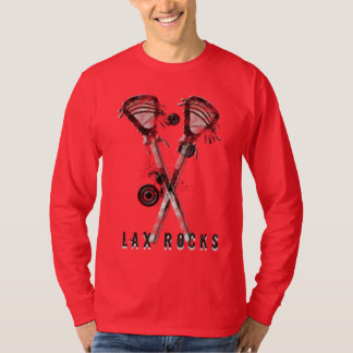 Lacrosse Lax Rocks! T-shirt