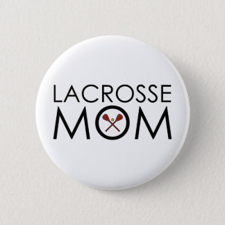 Lacrosse Mom 6 Cm Round Badge