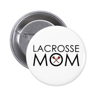 Lacrosse Mom 6 Cm Round Badge