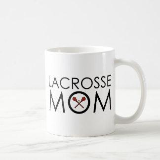 Lacrosse Mom Basic White Mug