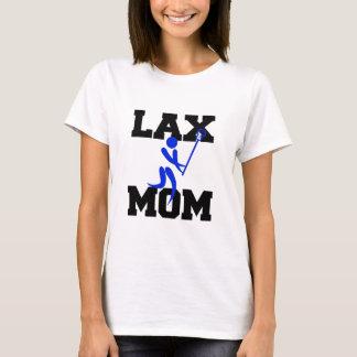 Lacrosse Mom in Blue T-Shirt