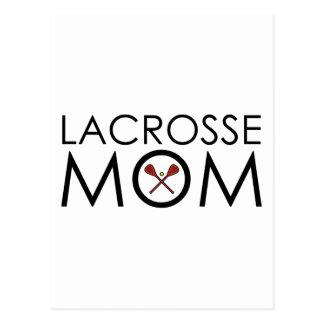 Lacrosse Mom Postcard
