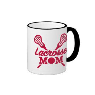 Lacrosse mom ringer mug
