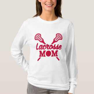 Lacrosse mom t shirt