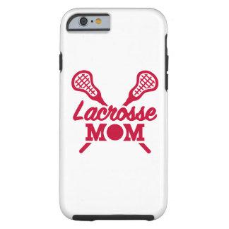 Lacrosse mom tough iPhone 6 case