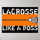 Lacrosse Motivation Poster