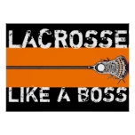 Lacrosse Motivation Poster