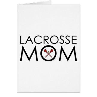 Lacrosse Mum Greeting Card