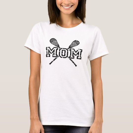 'lacrosse mum' MOTHER'S DAY T-Shirt
