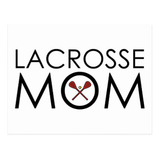 Lacrosse Mum Postcard