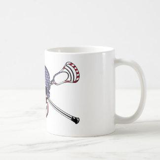 Lacrosse MURICA Mug