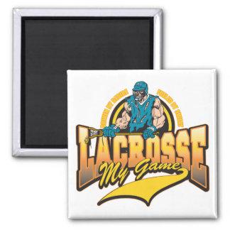 Lacrosse My Game Fridge Magnets