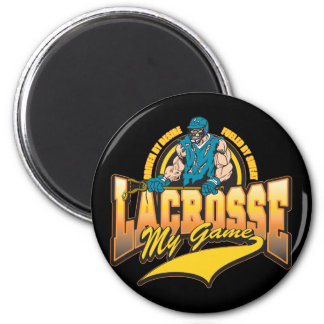 Lacrosse My Game Refrigerator Magnets