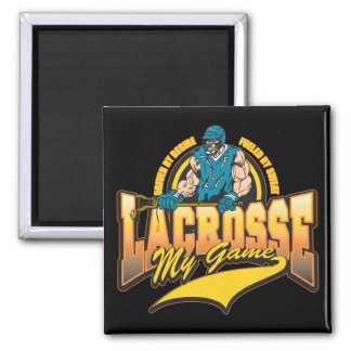 Lacrosse My Game Magnet
