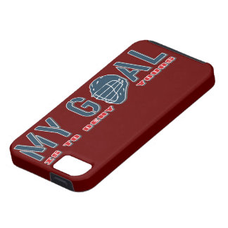 Lacrosse My Goal Goalie LAX iphone 5 vibe Case iPhone 5 Case