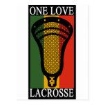 Lacrosse OneLove Postcard