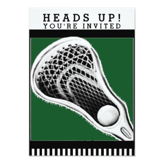 lacrosse party invitations