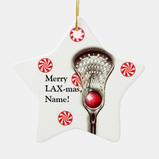 LACROSSE personalized ornament