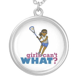 Lacrosse Player Blue Uniform Custom Jewelry