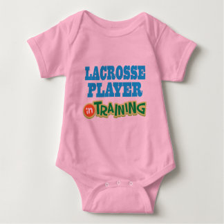 Lacrosse Player In Training (Future) Baby Bodysuit