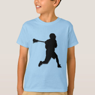 Lacrosse Player Kid's T T-Shirt
