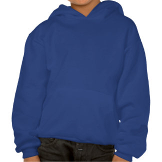 Lacrosse Player Mirror Image Hooded Pullover