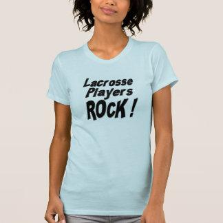 Lacrosse Players Rock! T-shirt