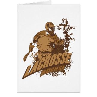 Lacrosse Rocks Greeting Card