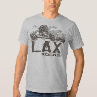 Lacrosse Rocks T Shirt