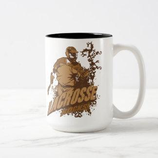 Lacrosse Rocks! Two-Tone Mug
