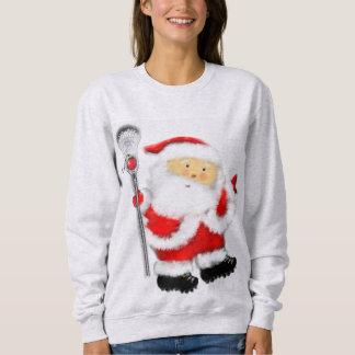 Lacrosse Santa Claus Sweatshirt