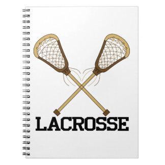 Lacrosse Spiral Notebook