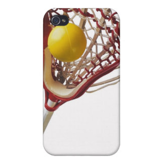 Lacrosse stick and ball case for the iPhone 4