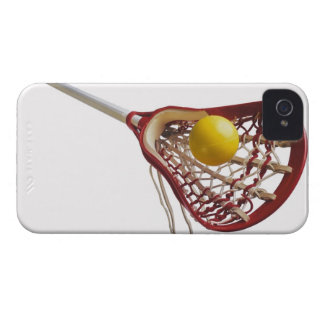 Lacrosse stick and ball iPhone 4 cases