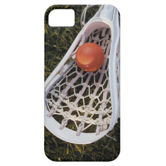 Lacrosse Stick and Ball iPhone 5 Cover