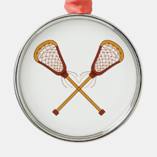 Lacrosse Sticks Christmas Ornament