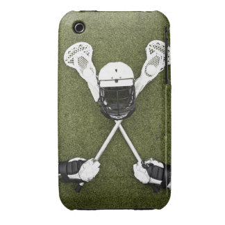 Lacrosse sticks, gloves, balls and sports helmet Case-Mate iPhone 3 cases