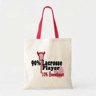 Lacrosse Sweetheart Tote Bag